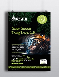 Howletts summer advertising campaign