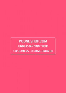 Poundshop.com customer research Case Study